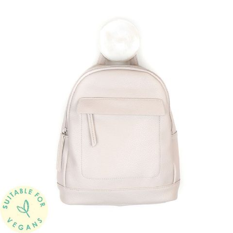 VEGAN LEATHER BACKPACK BUFF